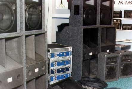 Jbl Outdoor Speakers >> History | Stage Sound
