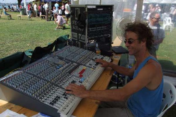 John with a new GL 2800 console.